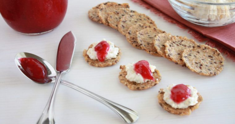 Holiday Cranberry Cheese Spread