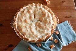 Brown Sugar Caramel Apple Pie