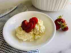 Gluten-Free Scoopable Cheesecake (no crust)