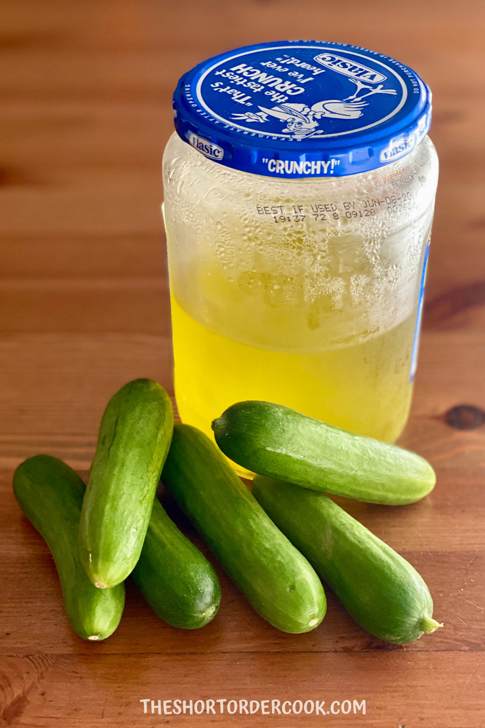 Homemade Pickles with Leftover Pickle Juice