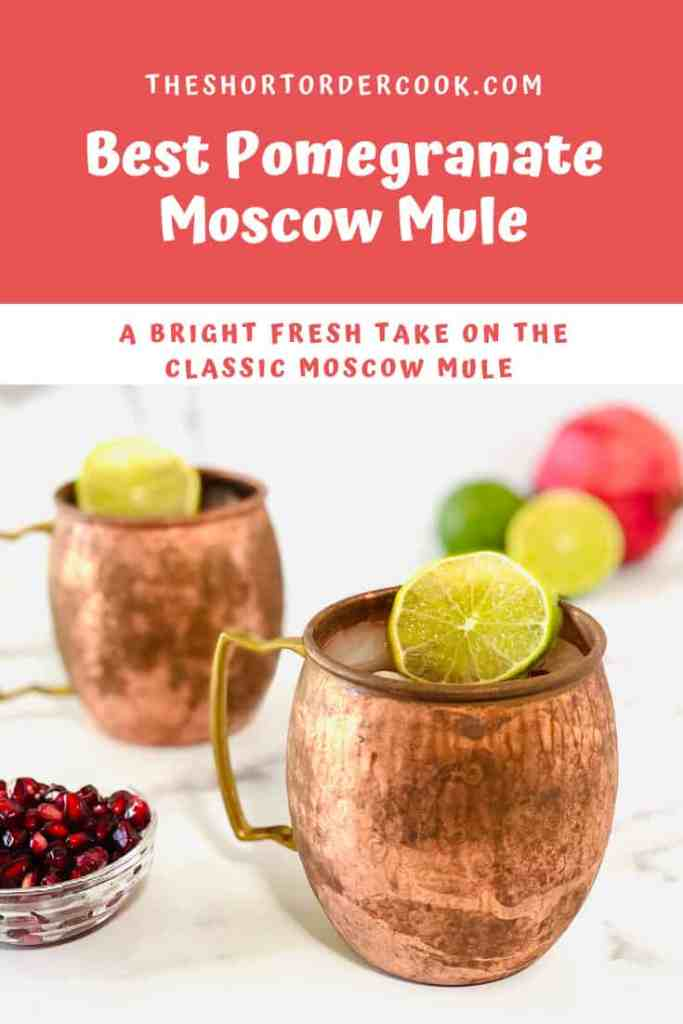 Best Pomegranate Moscow Mule PIN