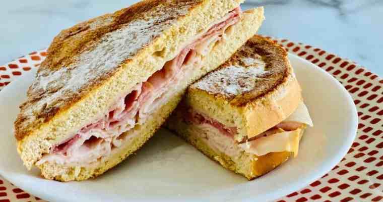 Keto Monte Cristo Sandwich