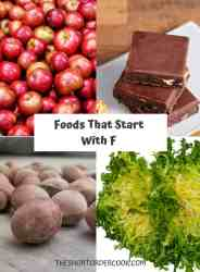 Foods That Start With F PIN