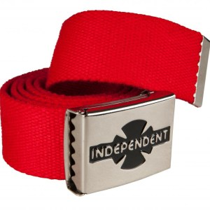 Independent Belt Clipped – Cardinal Red