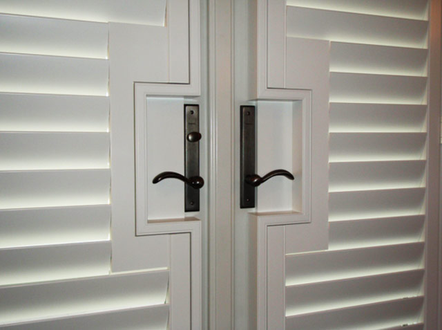 Living Dining Room Shutters Gallery The Shutter Source