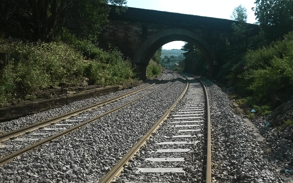Bolton to Blackburn rail line