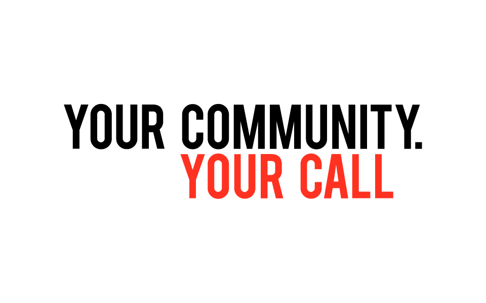 Your Community Your Call logo