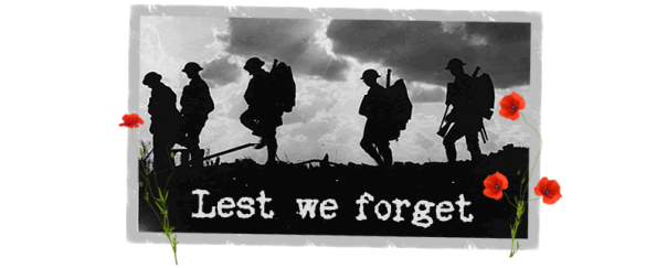 Lest we Forget: World War One Commemmorations