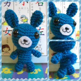 le Bunny du Blue (that's French for Blue Bunny, y'know)