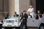 Back on the Pope Mobile