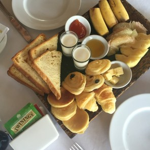 Breakfast tray. Cr: Ashley Yeo