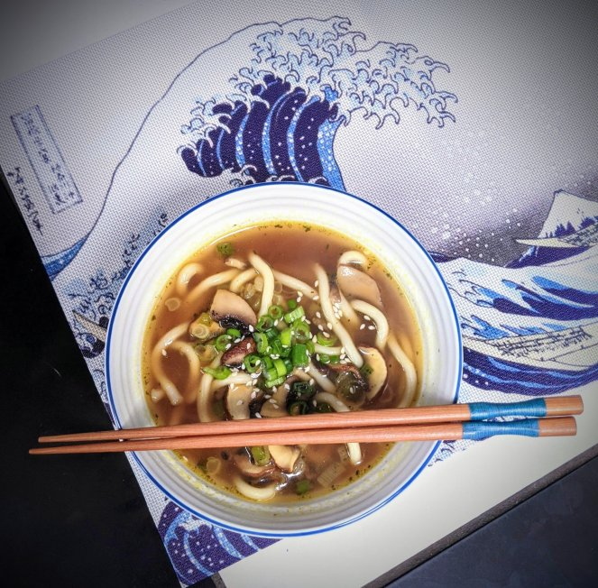 quick noodle soup recipe the sickly mama blog japanese chopsticks
