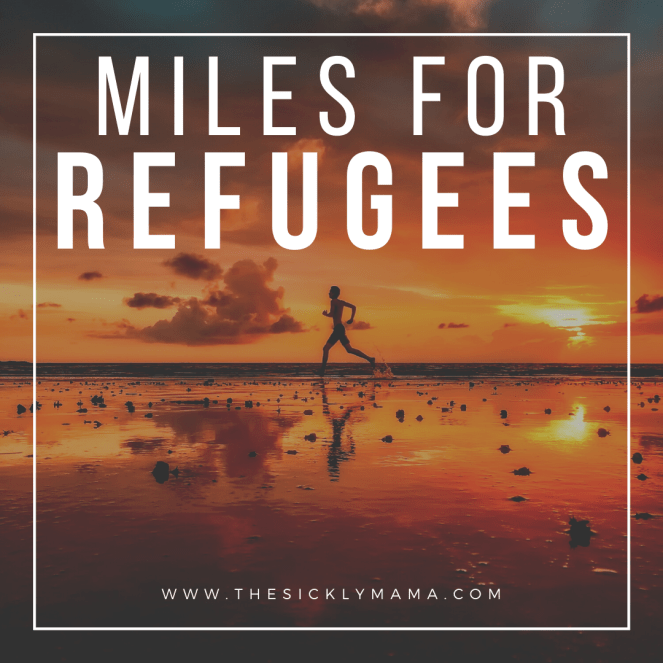 running miles for refugees 22 miles for the british red cross fundraising the sickly mama