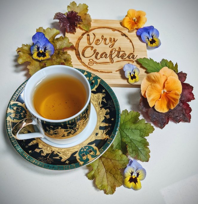 very craftea liquorice mint toffee tea - the sickly mama blog