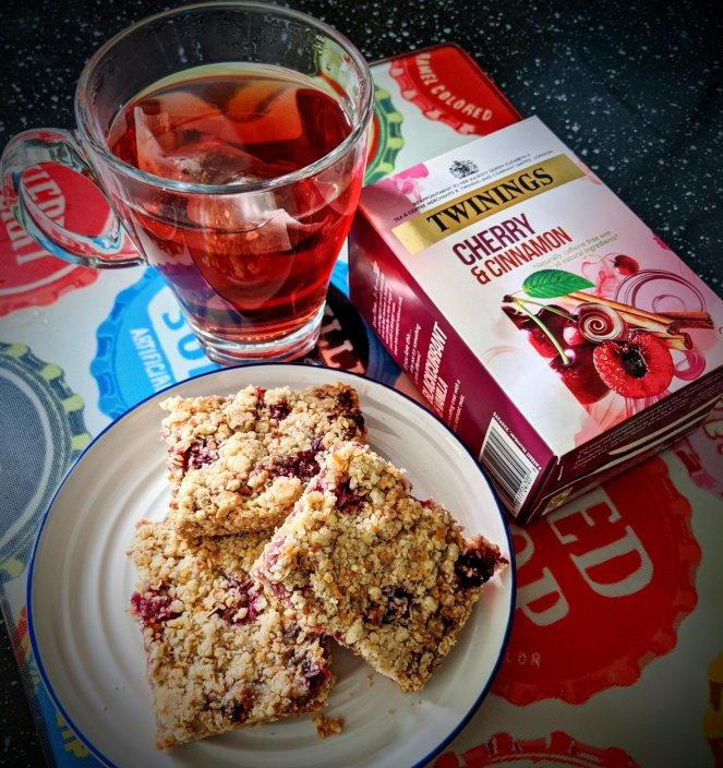 cherry and cinnamon tea twinings teabag review the sickly mama blog autumn