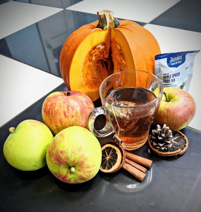 apple spiced fruit tea jenier world of teas review the sickly mama blog top teas for autumn