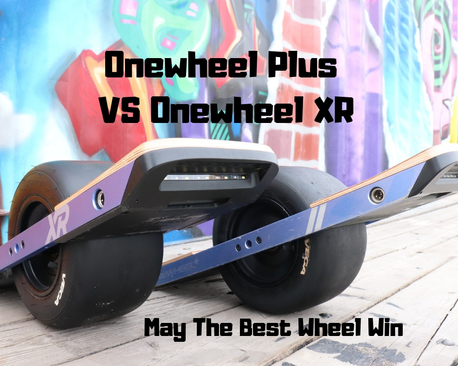 Onewheel Plus VS XR - The Sideways Movement