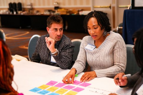 Attendees learning project management