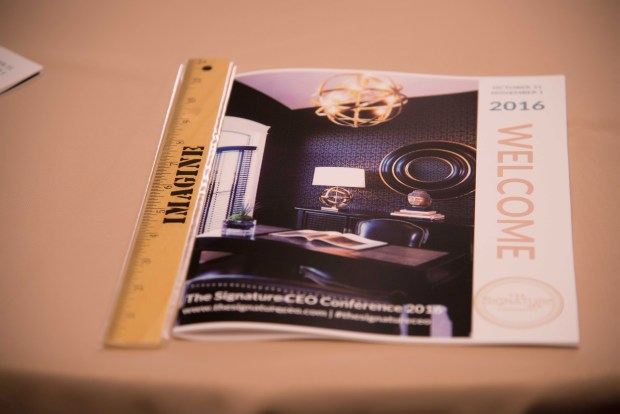 Conference brochures by Perfect Planning Events