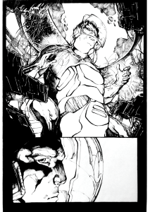 The Silence Issue 1 Page 5 update no words.016