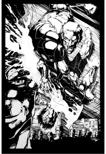 The Silence Issue 1 Splash Page 2 no words.022