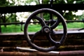 The Eternal Youth Steering Wheel has just been found...It is in a dead Greenhouse, seen near Horace Wilcox Library. Valley Forge National Park, PA
