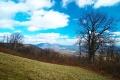 One of the overlooks of Blue Ridge Parkway in Virginia.