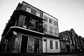 The French Quarter. New Orleans, LA.Vieux Carre