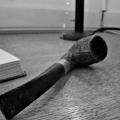 The pipe seen in the Mount.  Edith Wharton Estate & Gardens.  Lenox, MA
