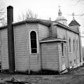 The church on Center St. Centralia, Pennsylvania