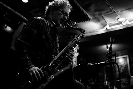 David Schnitter(Tenor Sax). The David Schnitter Quartet. Smalls Jazz Club, NY