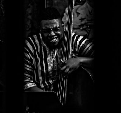 The Abraham Burton Quartet: Dezron Douglas(Bass) at Smalls Jazz Club, NYC