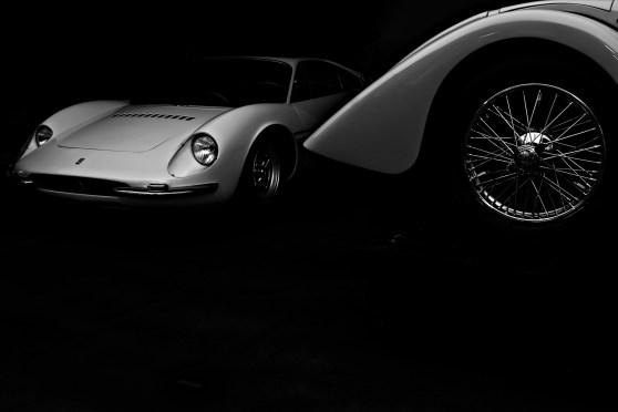 1933 Squire Roadster + 1966 Ferrari 365p Tre Posti Berlinetta Speciale. Simeone Museum Demo Day: The Art Of The Sports Car, With Michael Furman. Philadelphia, PA