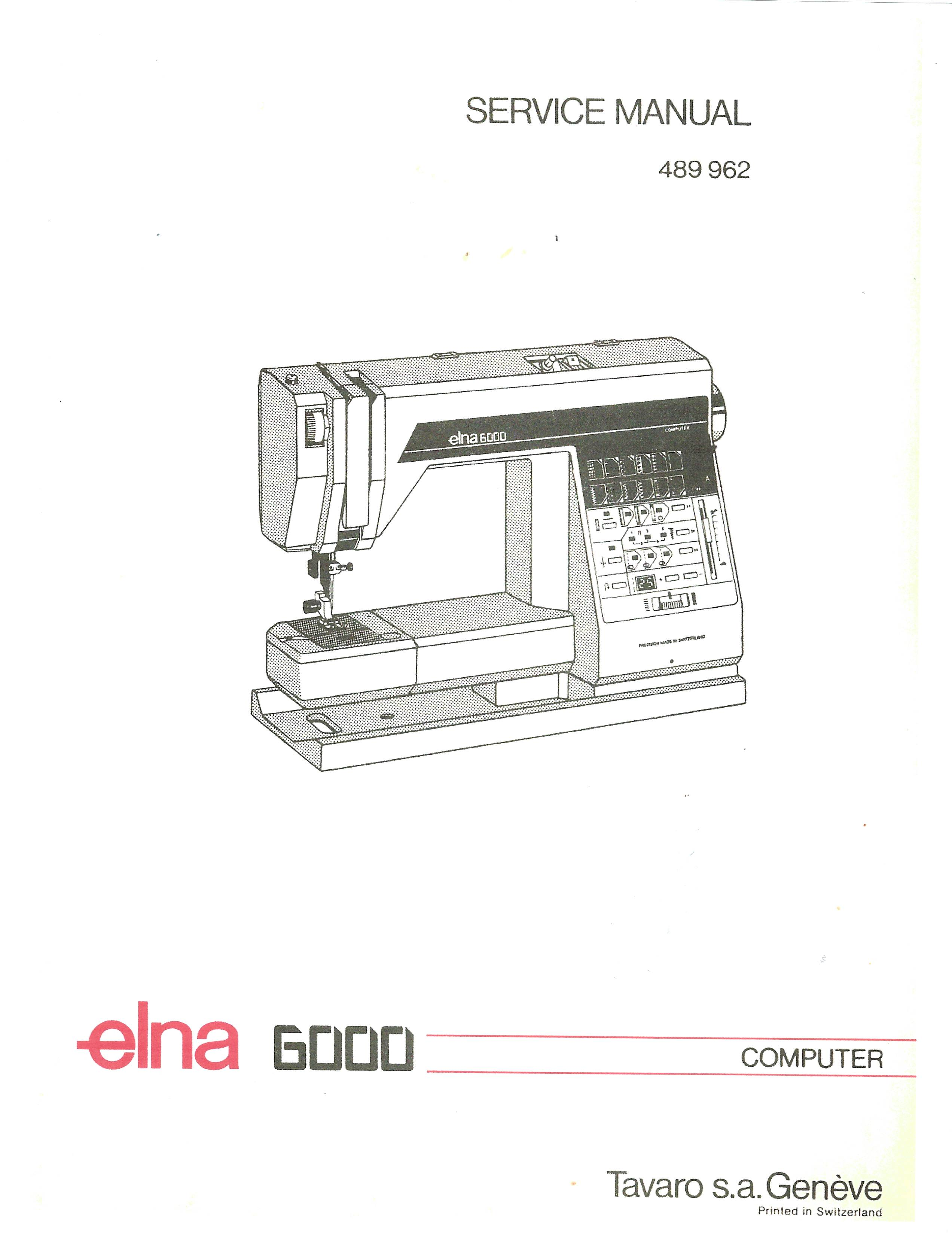 Elna Sewing Machine Parts