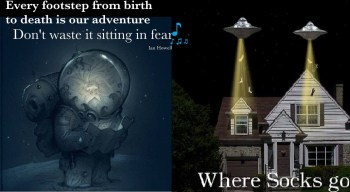 Map reading your life ufo Fear Moon
