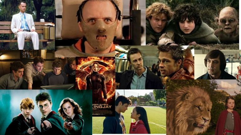 10 Best Book-to-Movie Adaptations that will blow your mind, 5th one is the best!!