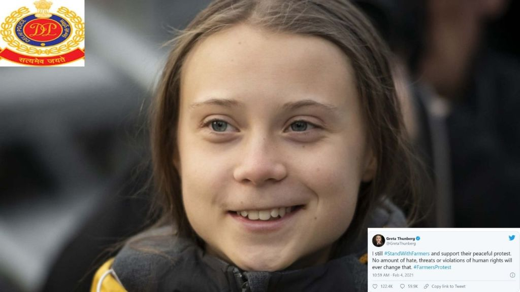 Greta Thunberg in Trouble: FIR filed against Greta for posting 'Misleading' Information on Farmers Protest