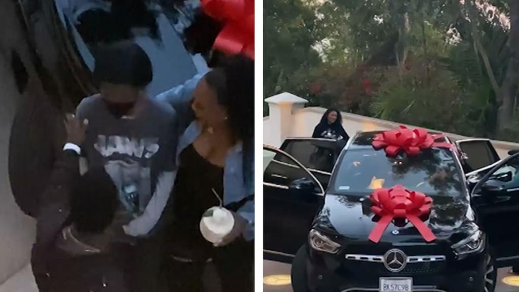 Kevin Hart surprised his daughter with a Mercedes Benz for her 16th Birthday.