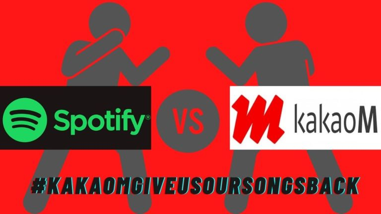 Reason: Why has there been a disagreement between Kakao M and Spotify?