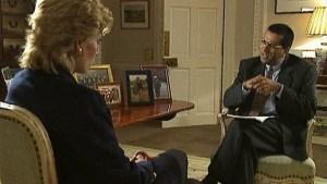 Martin Bashir and Princess Diana