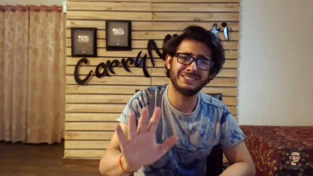 Carry Minati trolled Rubina Dilaik and Big Boss in his recent video