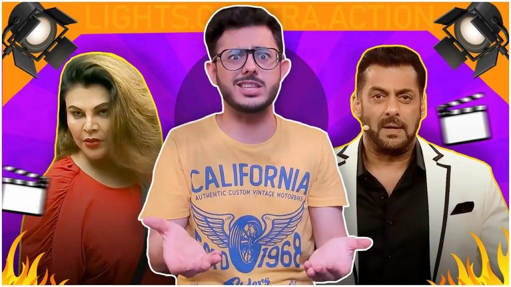 Carry Minati trolled Rubina Dilaik and Big Boss