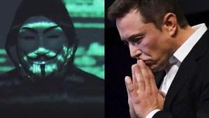 Anonymous, Elon Musk