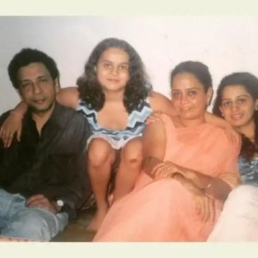 Kenisha Awasthi Family