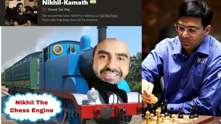Nikhil Kamath and Vishy anand