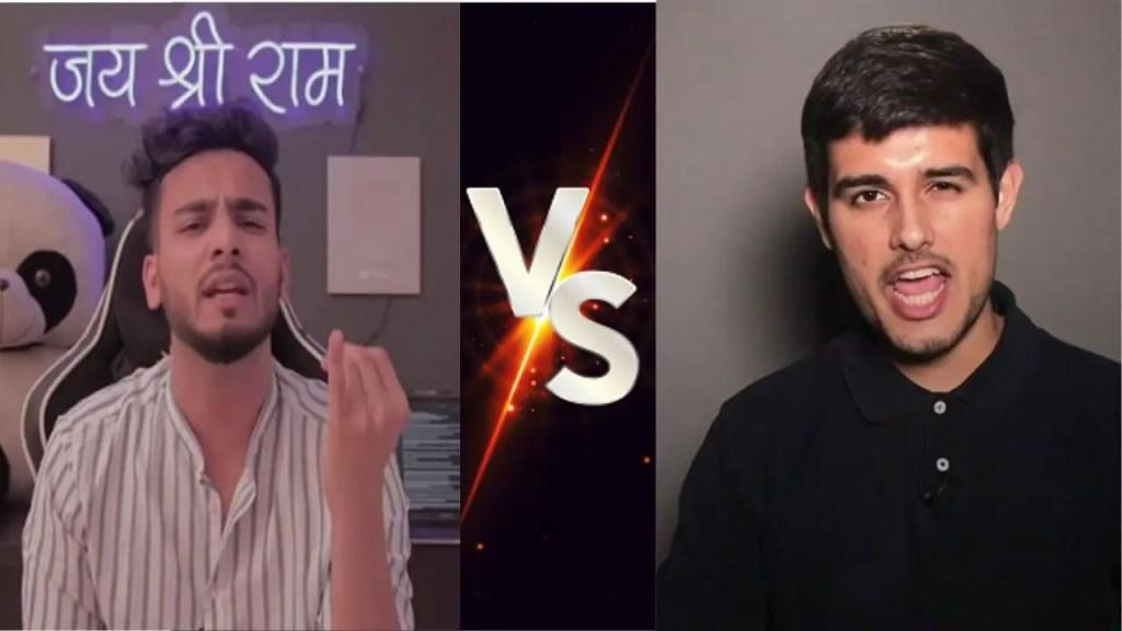 Elvish Yadav VS Dhruv Rathee