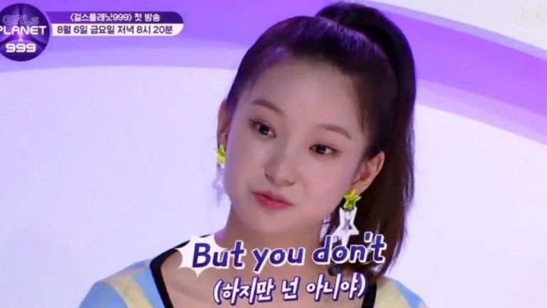 girls planet 999 contestant under fire