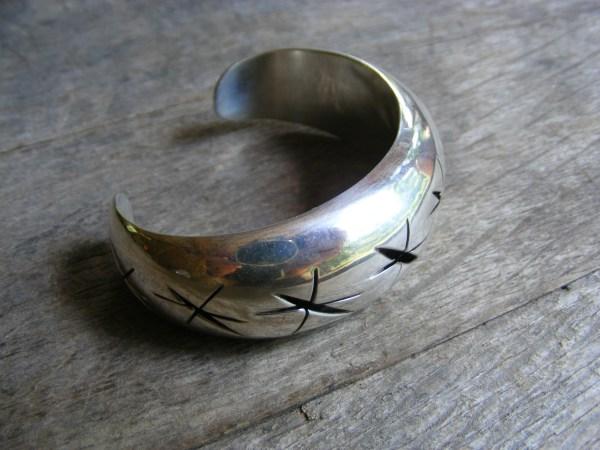 Shadow Box Cuff Bracelet – Vintage Mexican