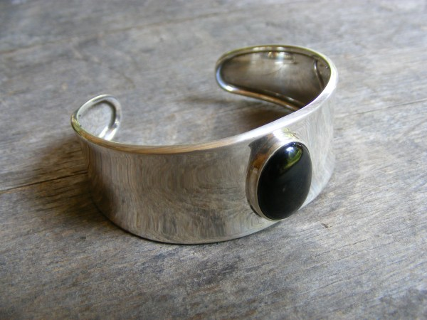 Onyx Cuff Bracelet – Vintage Mexican