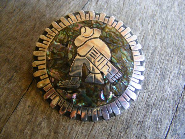Siesta Pendant – Vintage Mexican